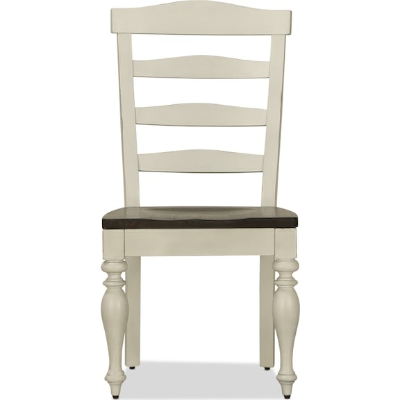 Dining Room Furniture - Carriage House Ladderback Side Chair