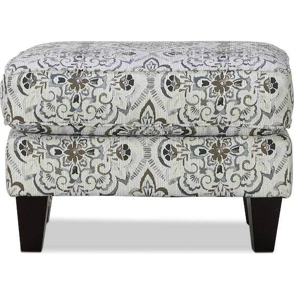 Living Room Furniture - Brookside Accent Ottoman - Cascade