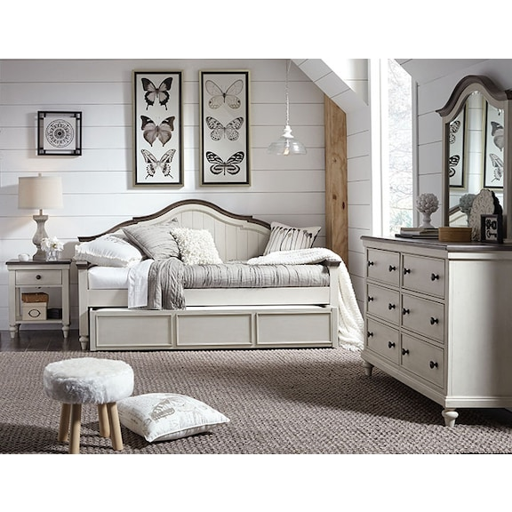 Kids Furniture - Lillian 4pc Twin Daybed Bedroom
