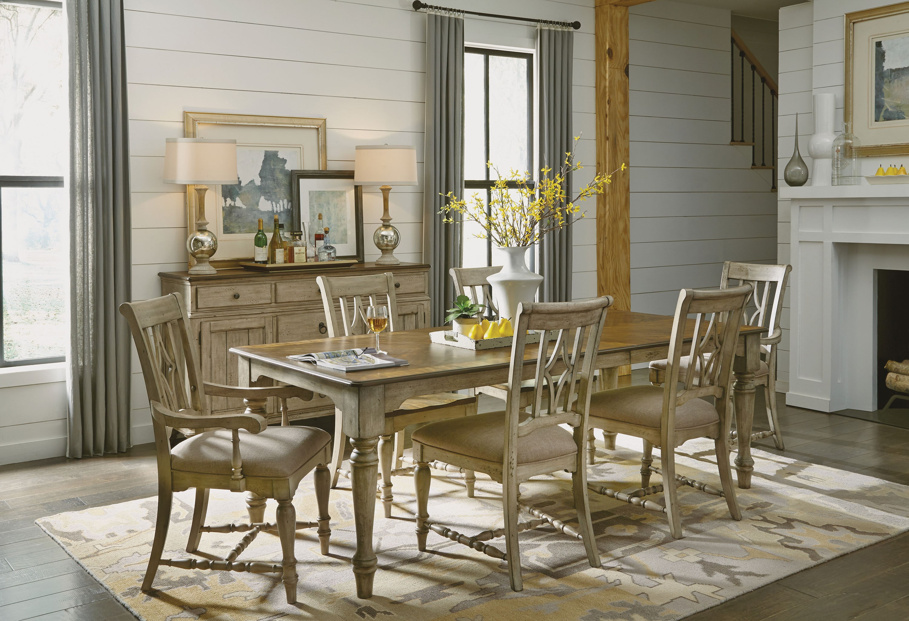 The Farmhouse Dining Collection, Wynwood Dining Room Sets