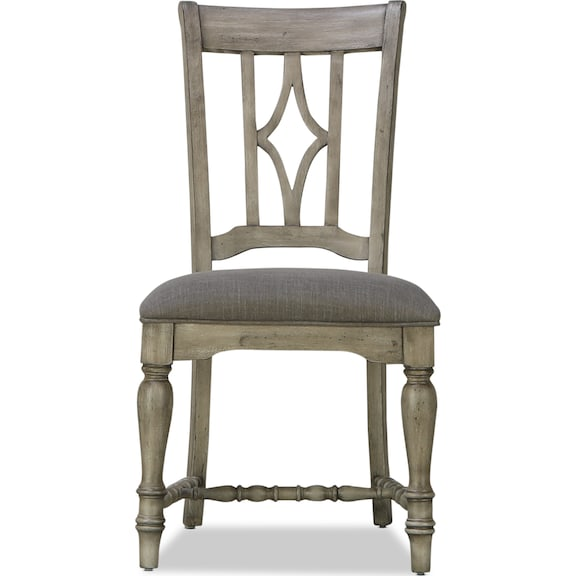Dining Room Furniture - Farmhouse Upholstered Side Chair
