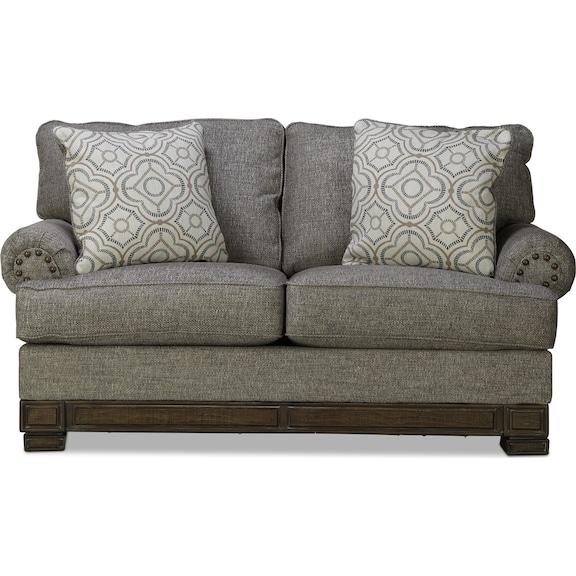 Living Room Furniture - Riles Loveseat