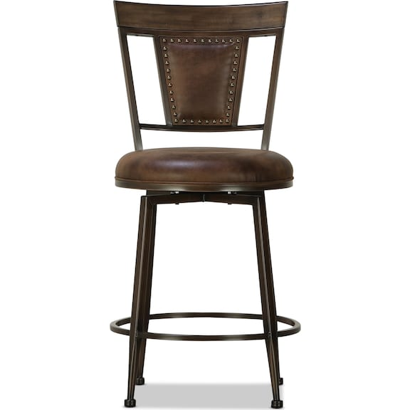 Dining Room Furniture - Danforth Swivel Counter Height Stool