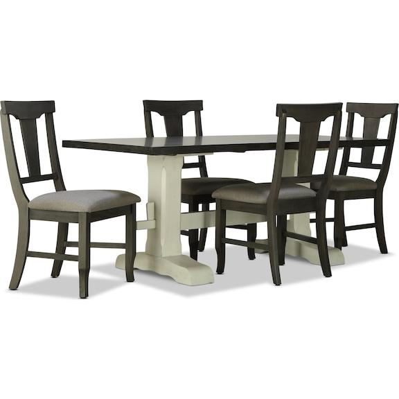 Dining Room Furniture - Beekman 5pc Dining