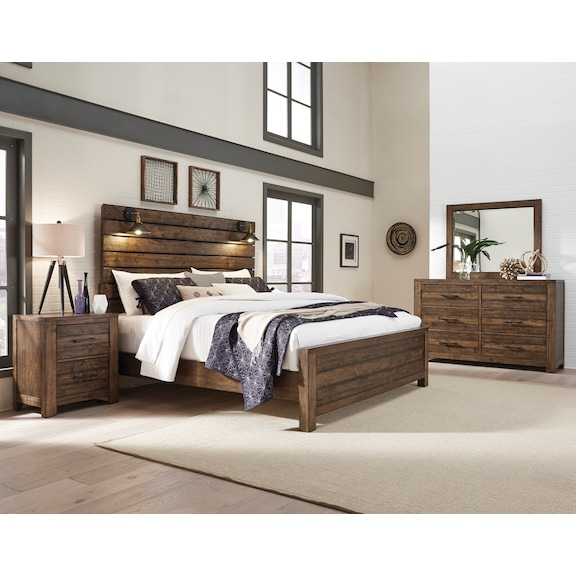 Bedroom Furniture - Tacoma 4pc Queen Bedroom