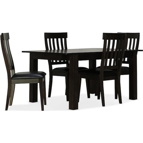 Dining Room Furniture - Leland 5pc Dining