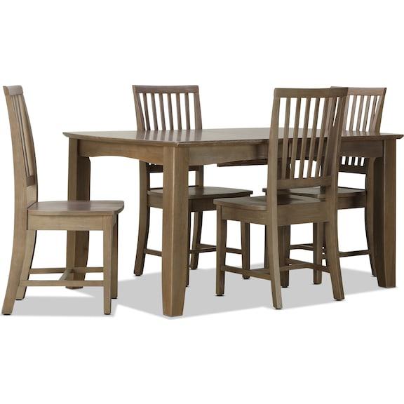 Dining Room Furniture - Bridgeport 5pc Dining