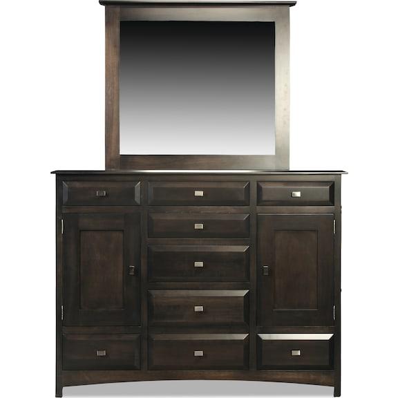 Bedroom Furniture - Simplicity II Triple Dresser