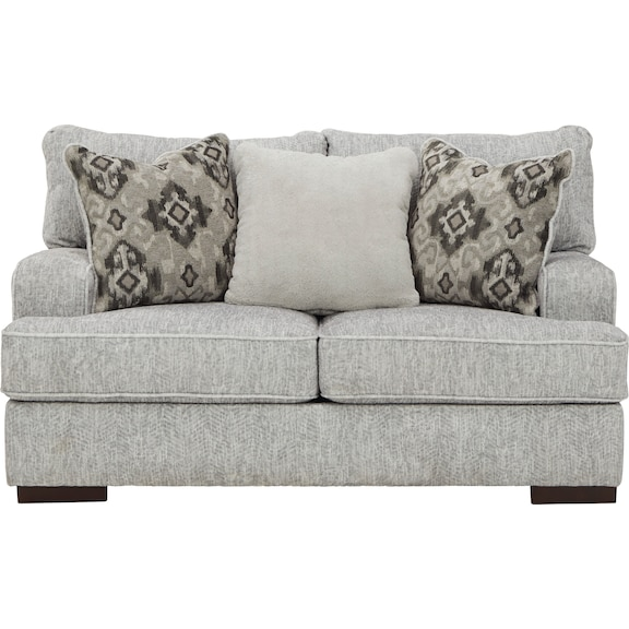 Living Room Furniture - Zoey Loveseat