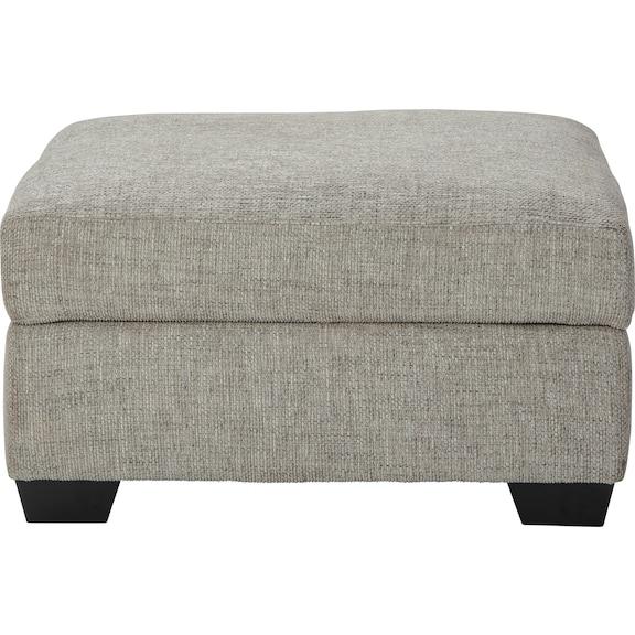 Living Room Furniture - Tibbee Storage Ottoman