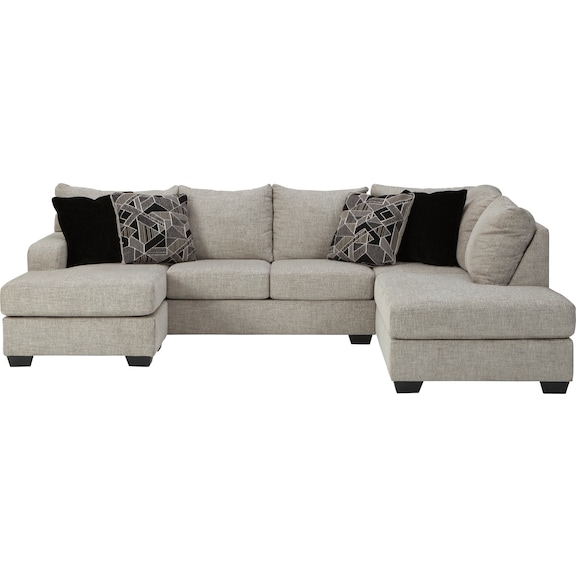 Living Room Furniture - Tibbee 2 Piece Sectional