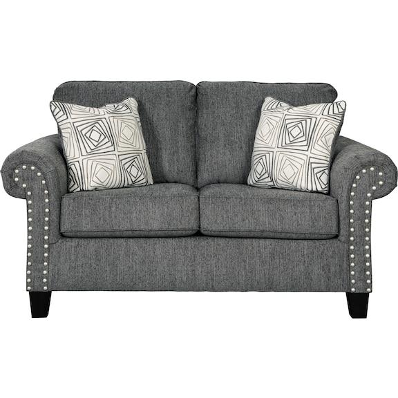 Living Room Furniture - Lockett Loveseat